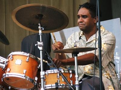 Drummer Ronnie Burrage