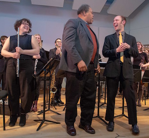 George Lewis with Ensemble Dal Niente